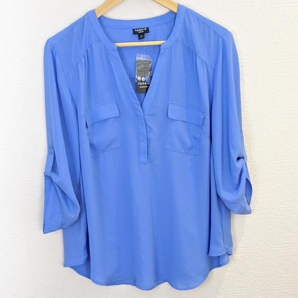 NWT Torrid Harper blouse